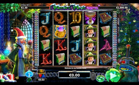 Merlins Magic Respins Xmas - Rizk Casino