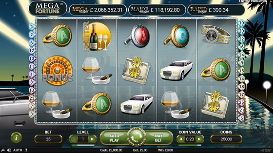 online casino ratings mega fortune