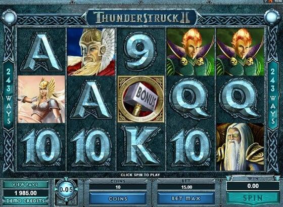 Up to €350 Bonus! Play Thunderstruck II Slot at Mr Green