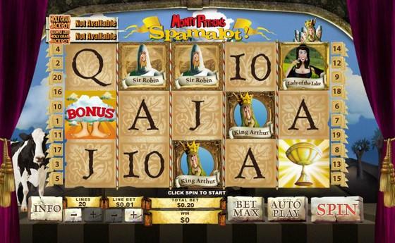 Monty Python's Spamalot – Progressive Jackpot