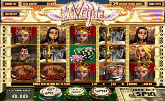 Mr Vegas Slot from BetSoft