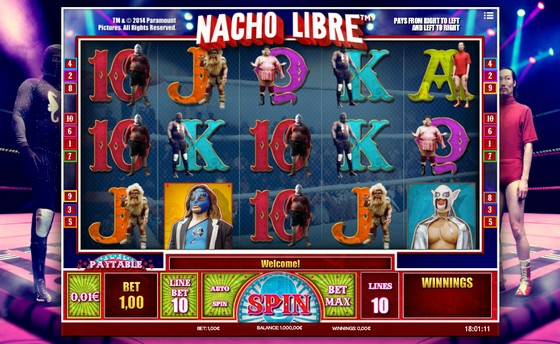 Nacho Libre – Sports Themed Slot