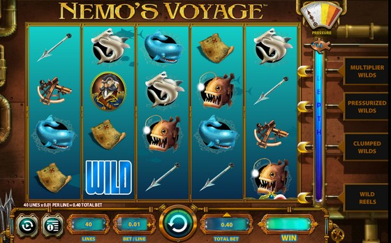 Nemo's Voyage Slot from WMS