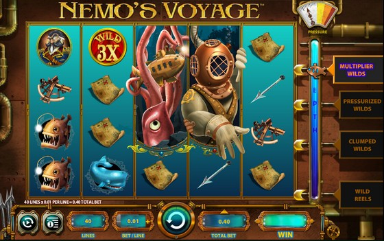 Nemo's Voyage – High Payout Slots