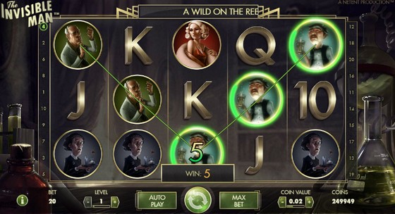 Invisible Man Slot - NetEnt Casino - Rizk Online Casino Deutschland