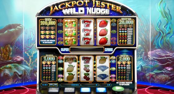 NextGen Slots Jackpot Jester Wild Nudge