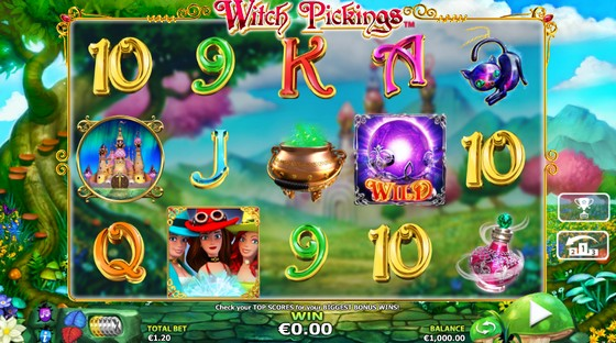 NextGen Slots Witch Pickings