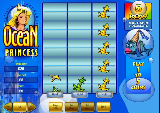 Ocean Princess - High Payout Slots