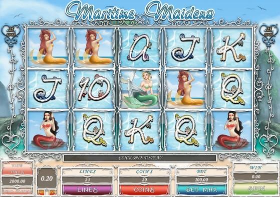 Maritime Maidens Slot