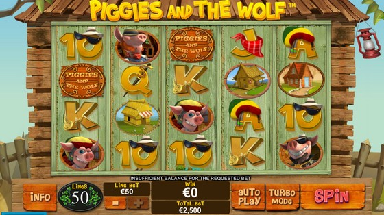 Piggies and the Wolf- High Stakes Slot