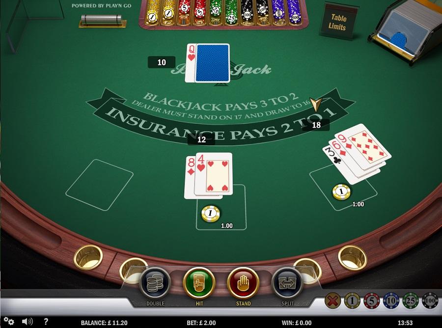 Play 'N Go Blackjack Screenshot
