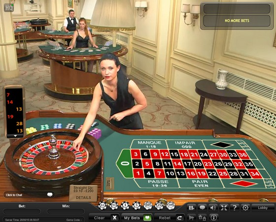 Playtech Live French Roulette