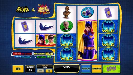 Playtech Slots Batman and The Batgirl Bonanza