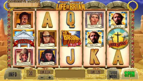 Playtech Slots Life of Brian