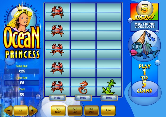 Playtech Slots Ocean Princess