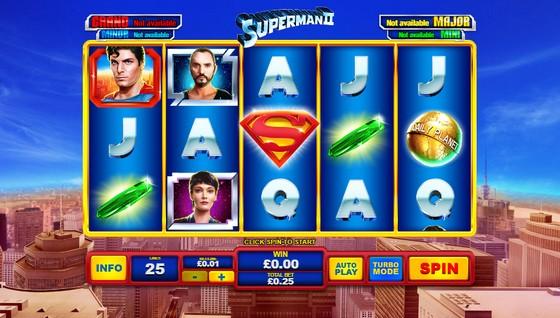 Playtech Slots Superman 2