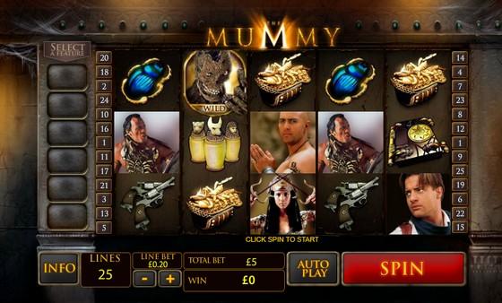 Playtech Slots The Mummy