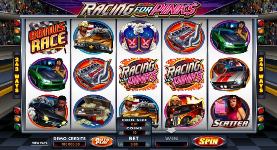 Racing for Pinks – Sports Themed Slot