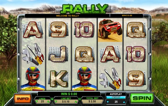 Rally – Sports Themed Slot