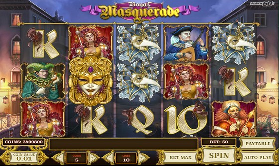 Royal Masquerade Slot