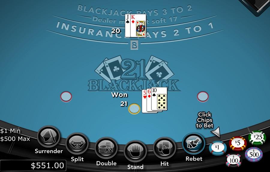 RTG Blackjack