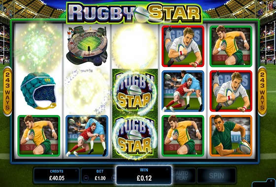 Rugby Star Rolling Reels