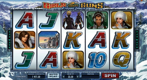 Girls With Guns – Frozen Dawn Slot
