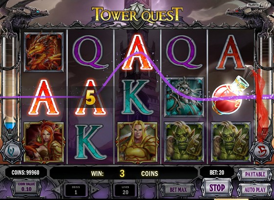 Tower Quest - Rizk Online Casino Sverige