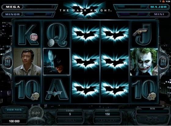 The Dark Knight- Progressive Jackpot