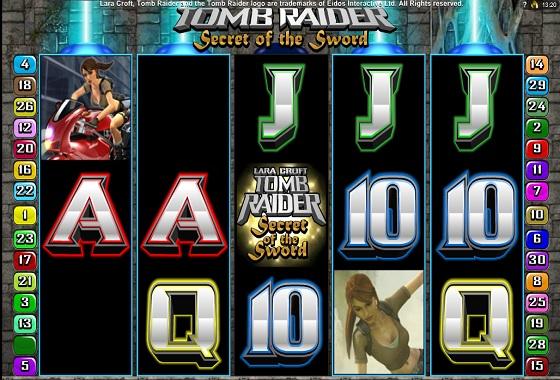 Tomb Raider Tumbling Reels