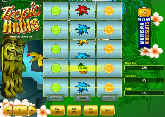 Tropic Reels – High Payout Slots
