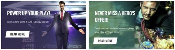Vegas Hero Promotions