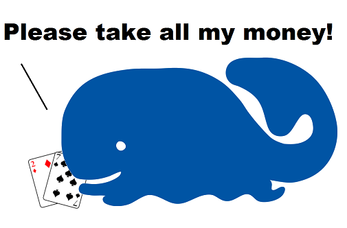 Whale poker player