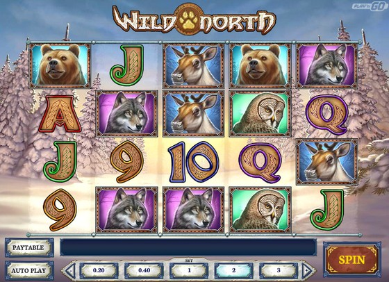 Wild North Slot from Play'n Go