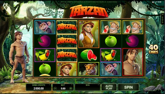 Wild Slots Review Tarzan