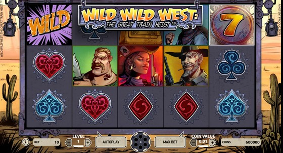 Wild Wild West – Low Stakes Slot