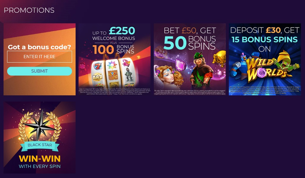 WinStar Casino Review Promotions