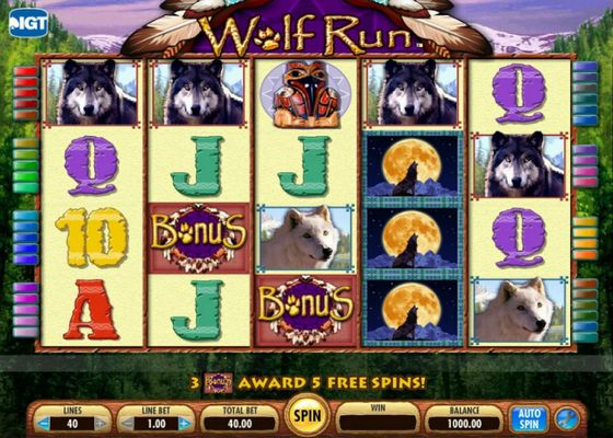 Wolf Run Slot from IGT