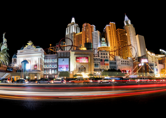 Picture of Las Vegas at Night to Represent Gambling