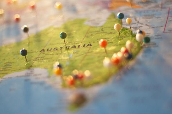 A map of Australia to represent Australian Gamblers