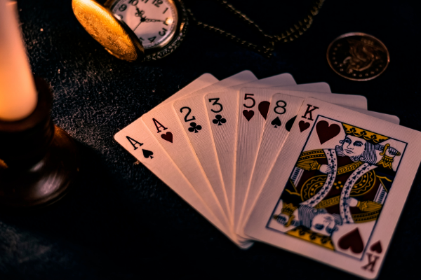 Picture of cards to represent casinos