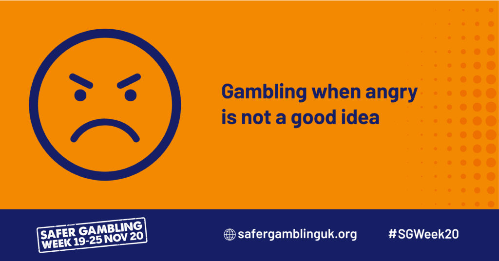 "An infograph saying ""gambling when angry is a bad idea"""
