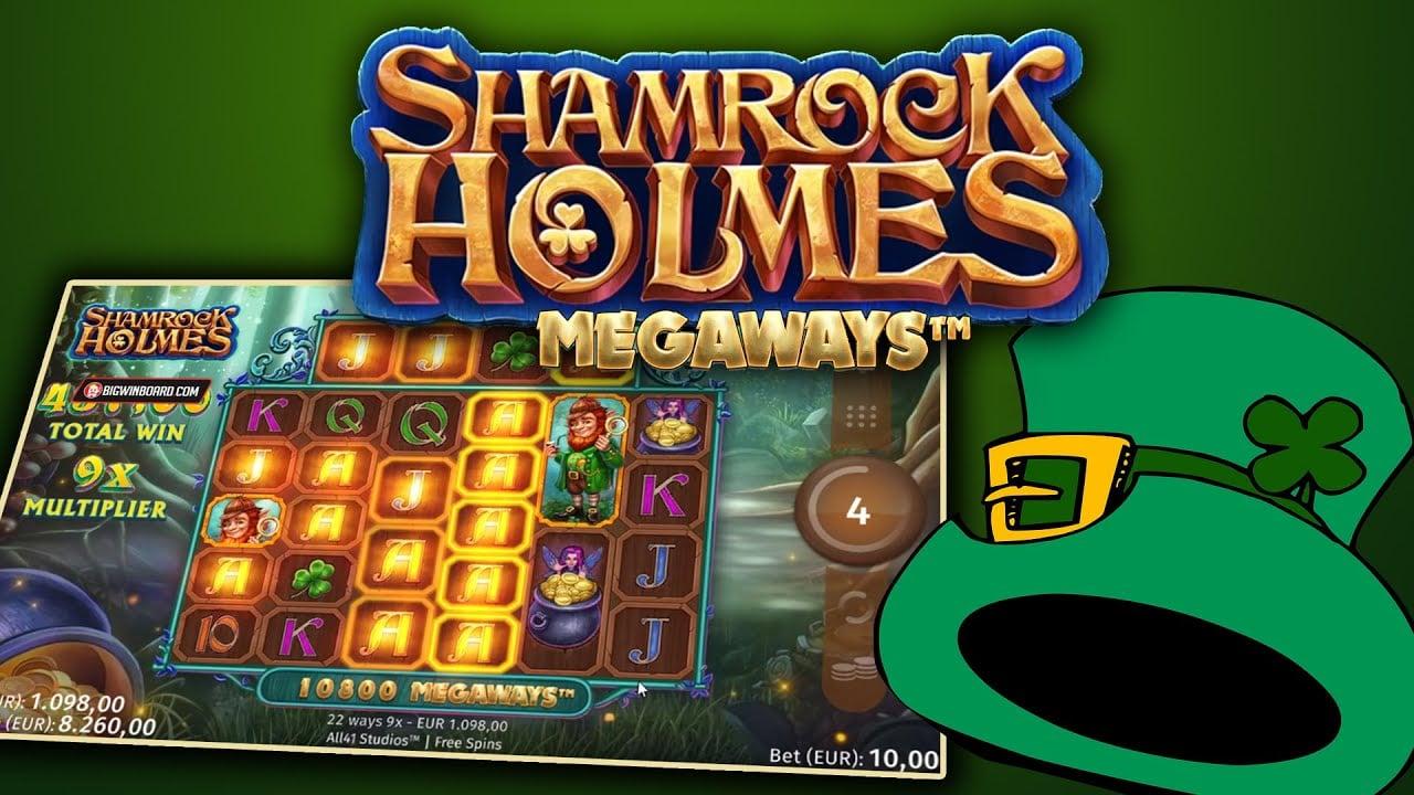 Shamrock Holmes slot
