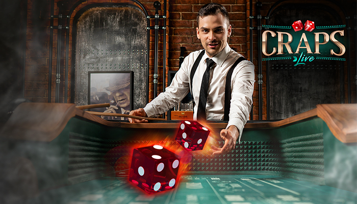 Live Craps Evolution Gaming