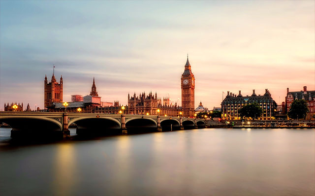 London cityscape big ben