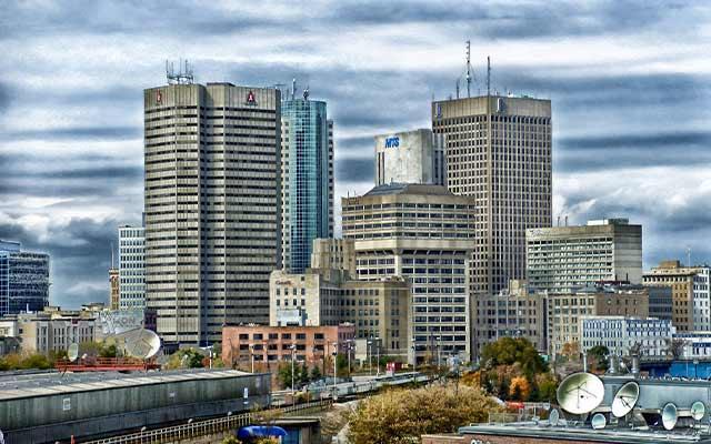 Winnipeg Canada Cityscape